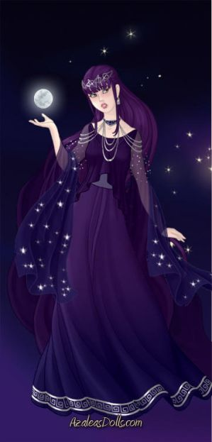~Quietus~ Hyuuga Hinata: Goddess of the Moon