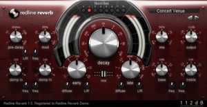 112dB Redline Reverb by ScottKaneGUIs
