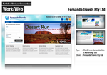 Fernando Travels Official Web Design by darshana4it
