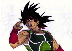 Bardock Colour by rampagebrian
