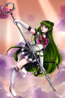 Eternal Sailor Pluto by nuxi-chan