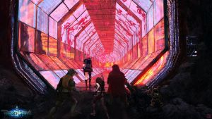 TitansGrave - Magma Tunnel by Hideyoshi