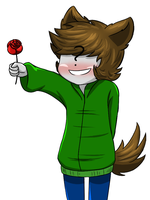 Jerry wants to give you a rose by PurpleMonsterEyJ