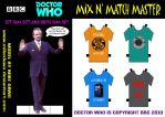 Doctor Who-Mix N' Match Master by mikedaws