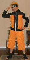 Naruto cosplay 1 by IronCobraAM