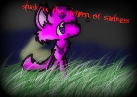 Stuck in the storm of sadness (vent) by DalmationCat