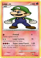 Luigi Card N64 by Masterluigi452