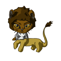 Lion Cenpard by Humming-Fly
