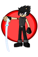 Blade The Hedgehog Frost Katana by Retzan
