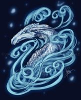 White Dragon by endzi-z