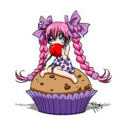 COLOUR_Cutest Cherry cell by SweetAmberkins
