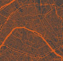 Paris by MapMapMaps