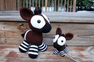 Big Okapi by MilesofCrochet