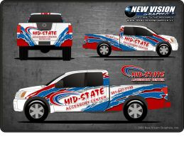 MidState Truck Accessory Wrap by tbtyler
