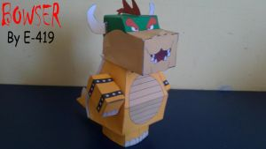 Bowser Cubeecraft by E-419