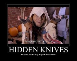 Hidden Knives by htfman114