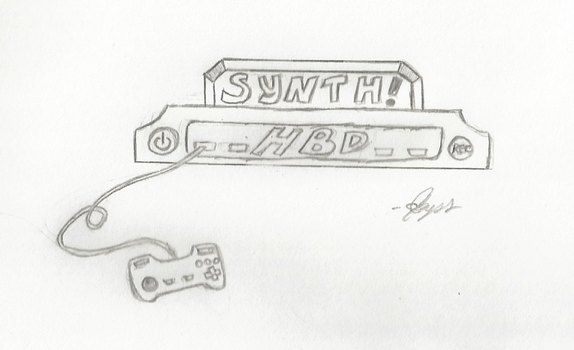 HBD Synth! by leayana