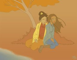64. Fall - Zutara by Irrel