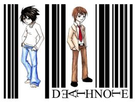 Death Note -bar code by IronicChoice