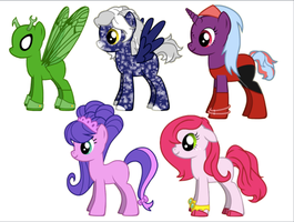 ~FREE PONY ADOPTABLES~ by StarCatcherZ