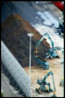 Barcelona - Tilt Shift 03 by echomrg