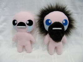 Binding of Isaac plushies by SPPlushies