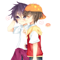 boboiboy and fang ... by purpangle177