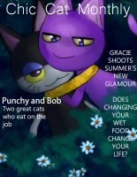 Chic Cat Monthly by K-chan619