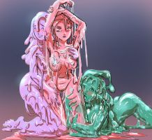 Slime Queen by Silkyfriction