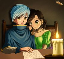 Show Me How You Read by LauraPaladiknight