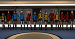 Yet even more of the crew of the USS Los Lobos by gx-9901
