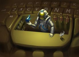 Space Bar by mattandrews