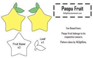 Pattern: Paopu Fruit by l1k3gh0sts
