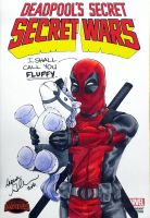 Deadpool Agnes Parody sketch cover by mechangel2002