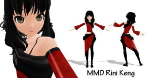 MMD Model Rini Keng Download by SachiShirakawa
