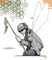 LP Soldier -Soundcheck- by perigryn