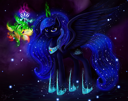 Night Light (Commission) by Das-Leben