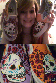 Los Muertos shoes by Black-Buck