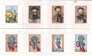 marvel 70th anniversary cards4 by katiecandraw