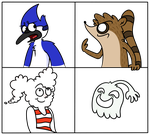 My Regular Show Favorite Characters by euamodeus