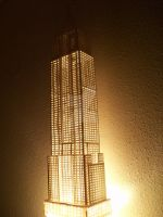 Empire State Building Light. by Herbie91