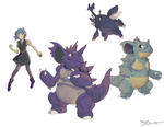 Pokemon Team: Toxic Attracters by kuraberry