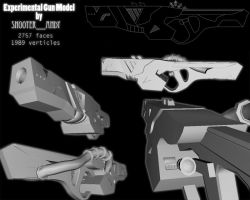 Experimental Gun Model by Shooter--Andy