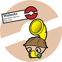 Fake Pokemon: Walnote by Sageroot