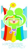 colorful katamari by Child-Of-Neglect
