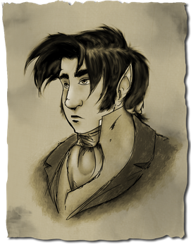 Some sort of portrait of Loup by Le-RenardRoux