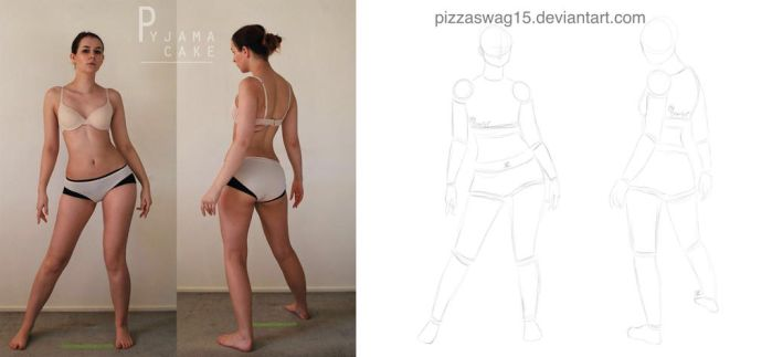 Character Design: Gesture Drawing by PizzaSwag15