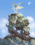 Troll rider by TOTOPO