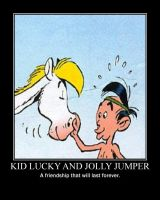 Lucky Luke Kids - Jolly Jumper by RedHatMeg