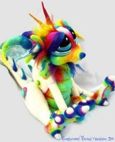 Marshmallow Sherbet Dragon by Tanglewood-Thicket